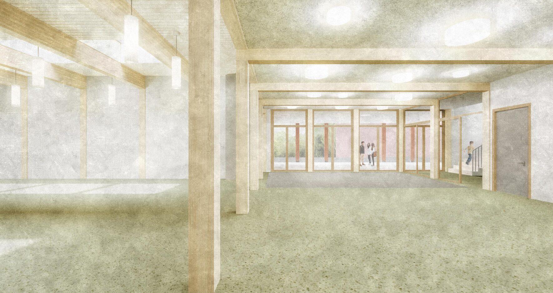 Gesamtleistungswettbewerb Neubau Schulhaus Risiacher Buchs AG
