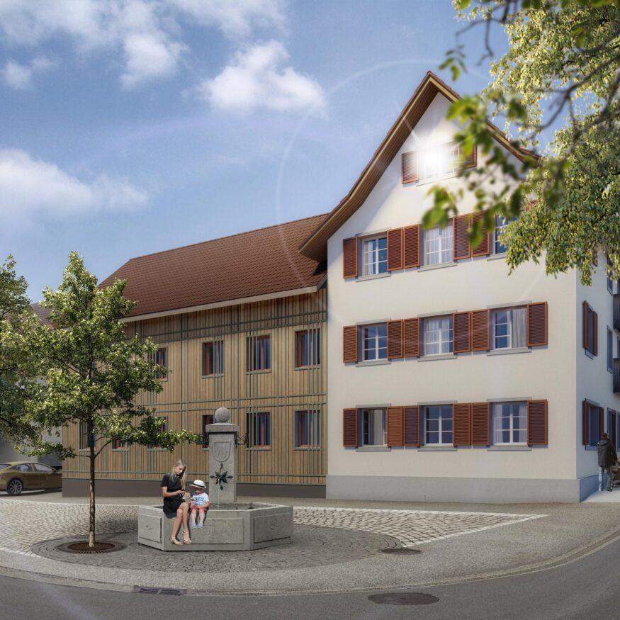 Wohnbau Bonstetten