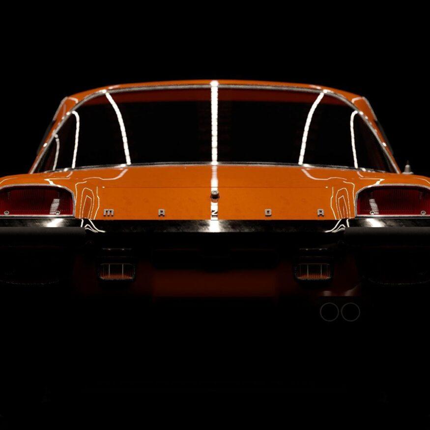 Studioaufnahme Mazda Cosmo
