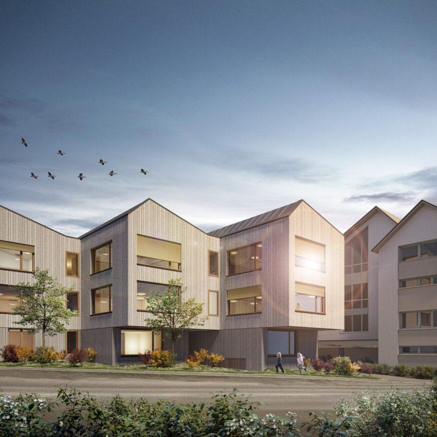 Neubau Schulhaus Hofmatt Oberägeri